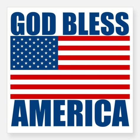 godblessamerica_square_sticker_3_x_3